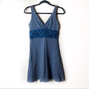 Patagonia Blue Abstract Margot Dress